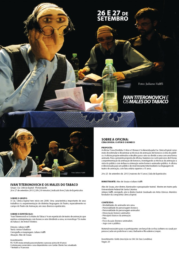 Jornada SESC de Artes Cênicas