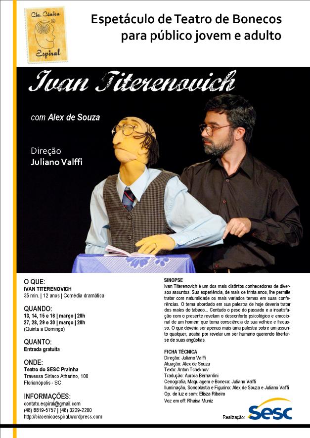Folheto SESC mar-2014 Ivan Titerenovich